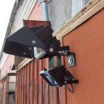 Кронштейн для уличного прожектора