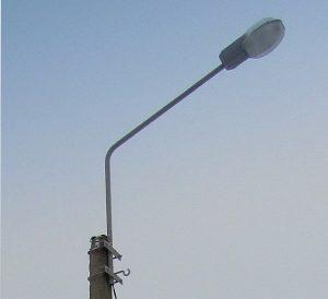 Кронштейн светильника наружного освещения