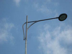 Однорожковый кронштейн для светильника